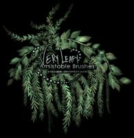 Very Leafy Brushes by arrsistable