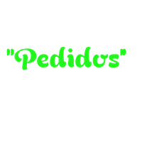 Texto png ''Pedidos''. by SwagEdittions