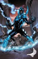 NEW BLUE BEETLE new 52 by PETECOLORS