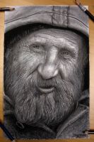 Santa Claus/ Homeless guy by AtomiccircuS