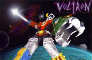 Voltron Illustration by torgosPizza