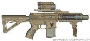 Raptor Firearms RAR-1 5.56mm Compact Rifle by lilgamerboy14