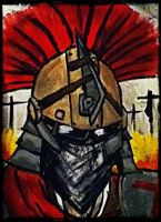 CENTURION PAINTING Fallout NV by SilentZer0
