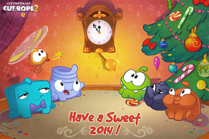 Have a Sweet 2014! by Evelyn2d