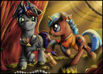 Commission - Who find a treasure... by FuriarossaAndMimma