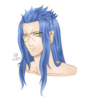 Saix Headshot by CartoonOwl