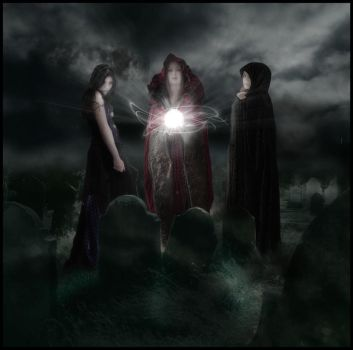 We Witches three by indigodeep