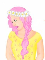 Mlp humanized Fluttershy by inkblots246