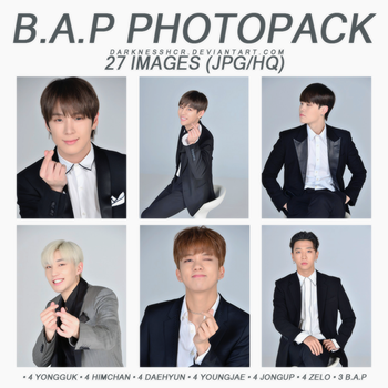 B.A.P PHOTOPACK by darknesshcr