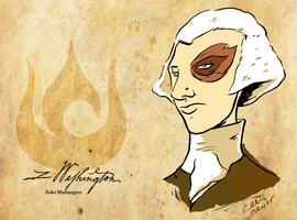 Zuko Washington-Freedom Bender by CraigArndt