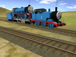 Faster Thomas Faster! by WaluigiTails3801