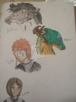 Shinlai Forum Headshots by FlameShuken