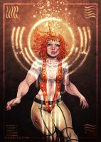 The Fifth Element Leeloo by CamiFortuna