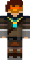 CraftyFox's Minecraft skin by 2-DimensionalNerd