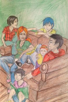 The Potter Family by DidxSomeonexSayxMad