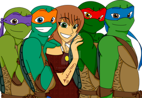 TMNT LOVE by malasia19845
