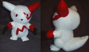 Zangoose plushie Trade by Glacideas