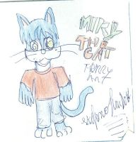 Old Drawing Micky The Cat 001 by Timebokan1