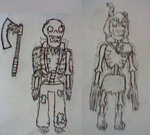 More Death Wytes (sketches) by TheGreatWarrior