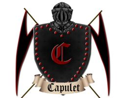 Capulet Crest by randomawesomechick