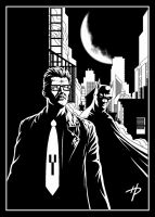 The Commissioner and the Bat by Hal-2012