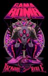 Gama Bomb - Backwards Bible - Purple Shirt by scumbugg