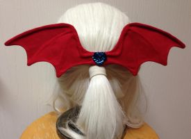 Lilith hair bow by silverfaction