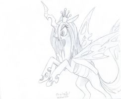 Changeling Queen by PitchTwinkle