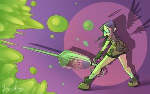 Tinker'ing with Poison by Curly-Artist