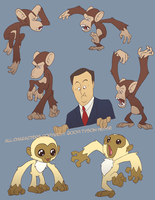 Many Monkeys by tysonhesse
