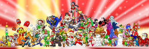 Super Smash Holiday Advent by Xero-J