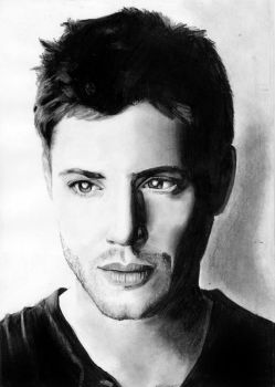 Jensen Ackles by cconnell