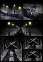 Fireflies page 1 by meokami