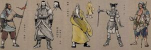 Ancient Chinese Warriors by Concept-Art-House