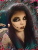 Me in BVB makeup :) by Liquidemerald5