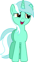 MLP: Lyra Heartstrings singing by FloppyChiptunes