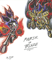 *TIDES OF ARES*:  Maurik VS. Blaze by Armpit-Warrior
