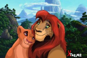 The Lion King - Kopa and Vitani by Diego32Tiger