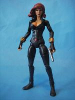 Custom Marvel Legends Black Widow by cusT0M