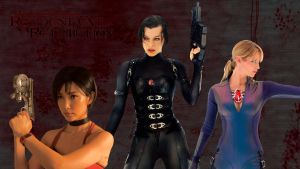 Resident Evil Retribution Fan-Wallpaper by ZombieRetributions
