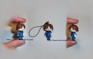 North Italy cell phone charm by lysen