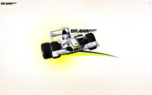 Brawn GP Wallpaper by brandonseaber