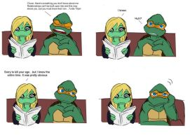 Turtle Titan revealed TMNT by Lily-pily