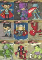 Marvel Masterpieces 2 pt.1 by katiecandraw