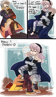 Kamui meets Robin 2 by phlavours