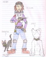 New Ghostbuster and partners by Star-Clair