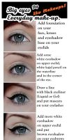 Big eyes everyday make-up TUTORIAL by IkuLestrange