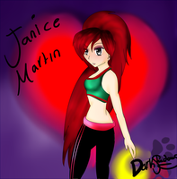 Janice Martin by Thedreamsofdarkness