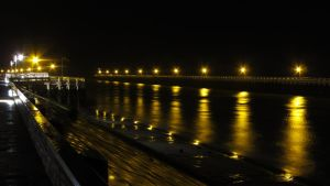 Nieuwpoort 4 (at night) by rollarius55