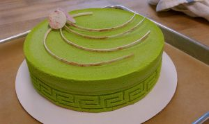 Sprayed Entremet by aakahasha